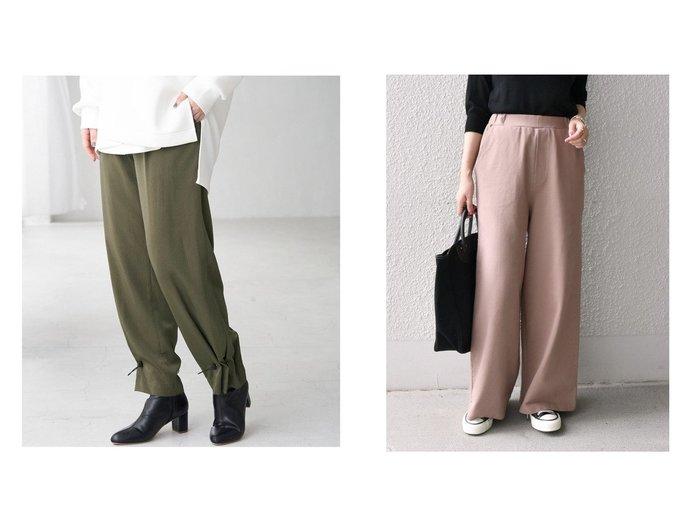 【SHIPS any/シップス エニィ】のSHIPS any ジャージー パンツ&【Rope Picnic/ロペピクニック】の裾ドロストイージーパンツ パンツのおすすめ!人気、トレンド・レディースファッションの通販 おすすめファッション通販アイテム レディースファッション・服の通販 founy(ファニー) ファッション Fashion レディースファッション WOMEN パンツ Pants ジーンズ ドローコード ポケット ラベンダー ジャージー セットアップ リラックス ワイド |ID:crp329100000014947