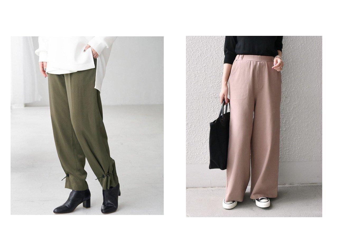 【SHIPS any/シップス エニィ】のSHIPS any ジャージー パンツ&【Rope Picnic/ロペピクニック】の裾ドロストイージーパンツ パンツのおすすめ!人気、トレンド・レディースファッションの通販 おすすめで人気の流行・トレンド、ファッションの通販商品 メンズファッション・キッズファッション・インテリア・家具・レディースファッション・服の通販 founy(ファニー) https://founy.com/ ファッション Fashion レディースファッション WOMEN パンツ Pants ジーンズ ドローコード ポケット ラベンダー ジャージー セットアップ リラックス ワイド  ID:crp329100000014947