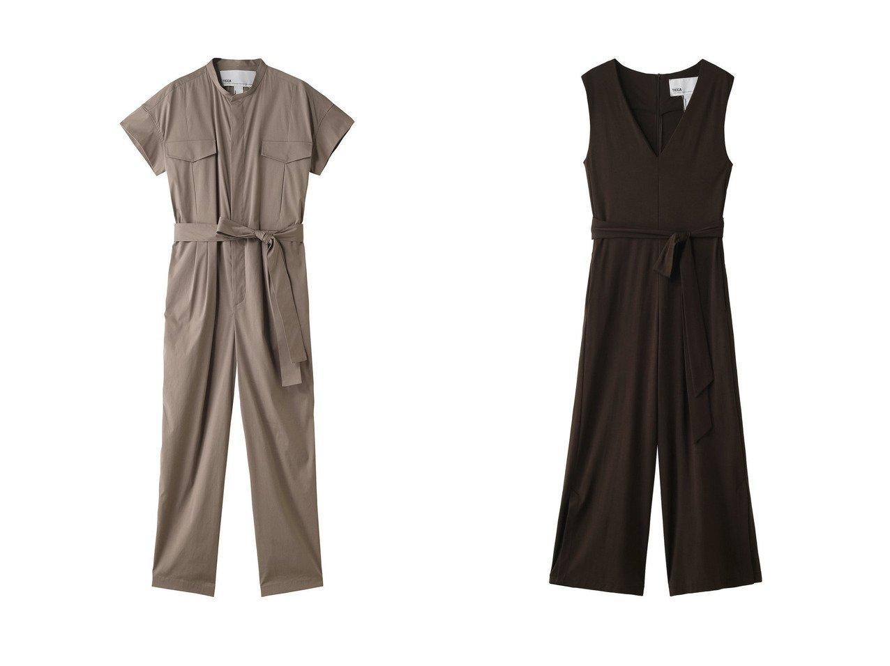 【TICCA/ティッカ】のコンビネゾン&コンビネゾン パンツのおすすめ!人気、トレンド・レディースファッションの通販 おすすめで人気の流行・トレンド、ファッションの通販商品 メンズファッション・キッズファッション・インテリア・家具・レディースファッション・服の通販 founy(ファニー) https://founy.com/ ファッション Fashion レディースファッション WOMEN パンツ Pants 2021年 2021 2021 春夏 S/S SS Spring/Summer 2021 S/S 春夏 SS Spring/Summer コンビネゾン シェイプ フロント ポケット 春 Spring  ID:crp329100000014953