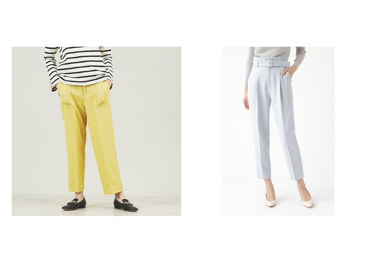 【qualite/カリテ】のカルゴカーゴパンツ&【JILLSTUART/ジルスチュアート】のサンディパンツ パンツのおすすめ!人気、トレンド・レディースファッションの通販 おすすめで人気の流行・トレンド、ファッションの通販商品 メンズファッション・キッズファッション・インテリア・家具・レディースファッション・服の通販 founy(ファニー) https://founy.com/ ファッション Fashion レディースファッション WOMEN パンツ Pants イエロー 春 Spring カーゴパンツ センター テーパード トレンド 定番 Standard ポケット ワイド 2021年 2021 S/S 春夏 SS Spring/Summer 2021 春夏 S/S SS Spring/Summer 2021 スリム |ID:crp329100000014960
