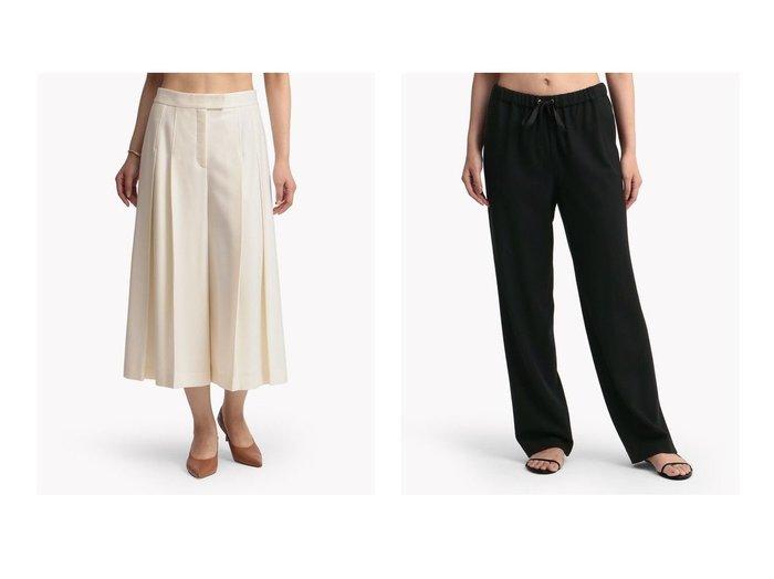 【Theory Luxe/セオリーリュクス】のパンツ TOTEM BELLIP&パンツ SAXONY SOFT POPAN パンツのおすすめ!人気、トレンド・レディースファッションの通販 おすすめファッション通販アイテム レディースファッション・服の通販 founy(ファニー) ファッション Fashion レディースファッション WOMEN パンツ Pants バッグ Bag ドレープ ファブリック フロント カシミヤ ジャージー パジャマ フィット |ID:crp329100000014962