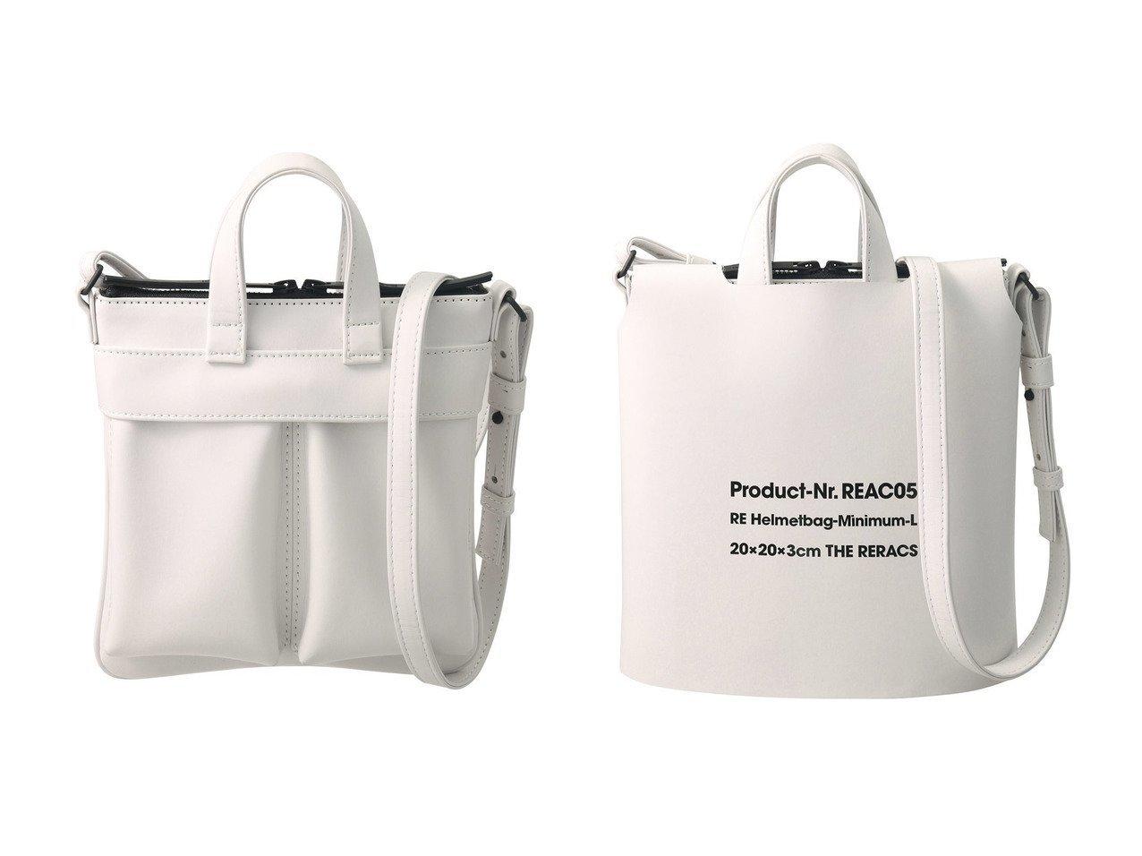 【THE RERACS/ザ リラクス】のミニマムヘルメットバッグ+カバー&ミニマムヘルメットバッグ バッグ・鞄のおすすめ!人気、トレンド・レディースファッションの通販 おすすめで人気の流行・トレンド、ファッションの通販商品 メンズファッション・キッズファッション・インテリア・家具・レディースファッション・服の通販 founy(ファニー) https://founy.com/ ファッション Fashion レディースファッション WOMEN バッグ Bag 2021年 2021 2021 春夏 S/S SS Spring/Summer 2021 S/S 春夏 SS Spring/Summer ショルダー シンプル フロント ポケット 春 Spring |ID:crp329100000014984