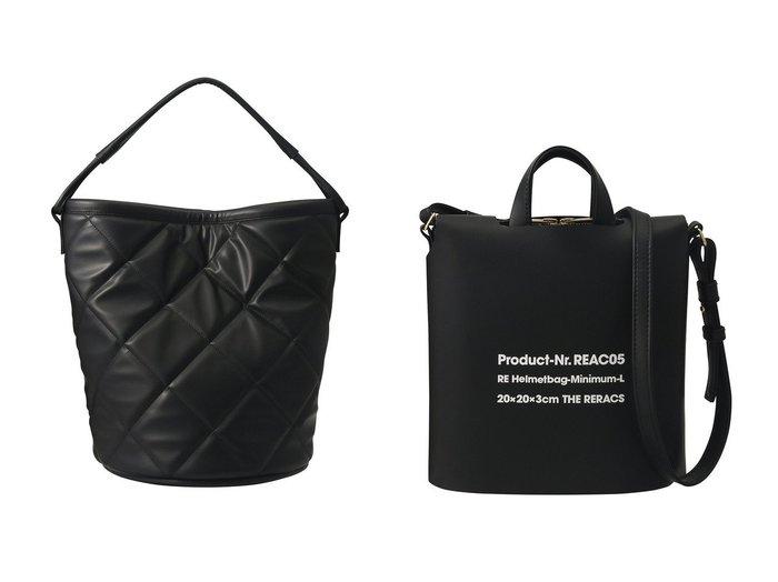 【THE RERACS/ザ リラクス】のキルトバケットバッグ&ミニマムヘルメットバッグ+カバー バッグ・鞄のおすすめ!人気、トレンド・レディースファッションの通販 おすすめファッション通販アイテム インテリア・キッズ・メンズ・レディースファッション・服の通販 founy(ファニー) https://founy.com/ ファッション Fashion レディースファッション WOMEN バッグ Bag 2021年 2021 2021 春夏 S/S SS Spring/Summer 2021 S/S 春夏 SS Spring/Summer キルティング シンプル ハンドバッグ バケツ マグネット 春 Spring  ID:crp329100000014986