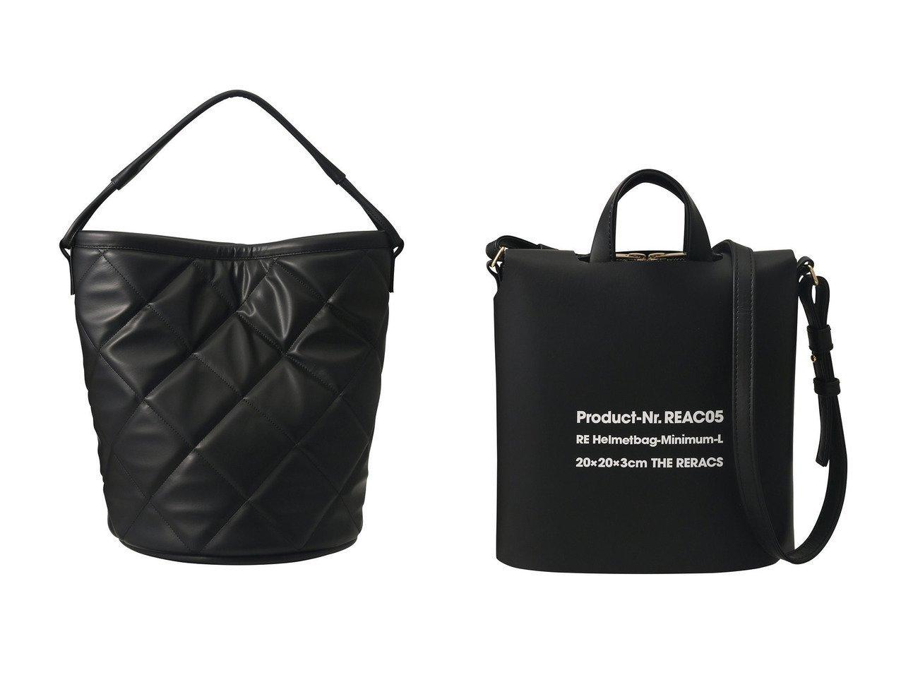 【THE RERACS/ザ リラクス】のキルトバケットバッグ&ミニマムヘルメットバッグ+カバー バッグ・鞄のおすすめ!人気、トレンド・レディースファッションの通販 おすすめで人気の流行・トレンド、ファッションの通販商品 メンズファッション・キッズファッション・インテリア・家具・レディースファッション・服の通販 founy(ファニー) https://founy.com/ ファッション Fashion レディースファッション WOMEN バッグ Bag 2021年 2021 2021 春夏 S/S SS Spring/Summer 2021 S/S 春夏 SS Spring/Summer キルティング シンプル ハンドバッグ バケツ マグネット 春 Spring |ID:crp329100000014986