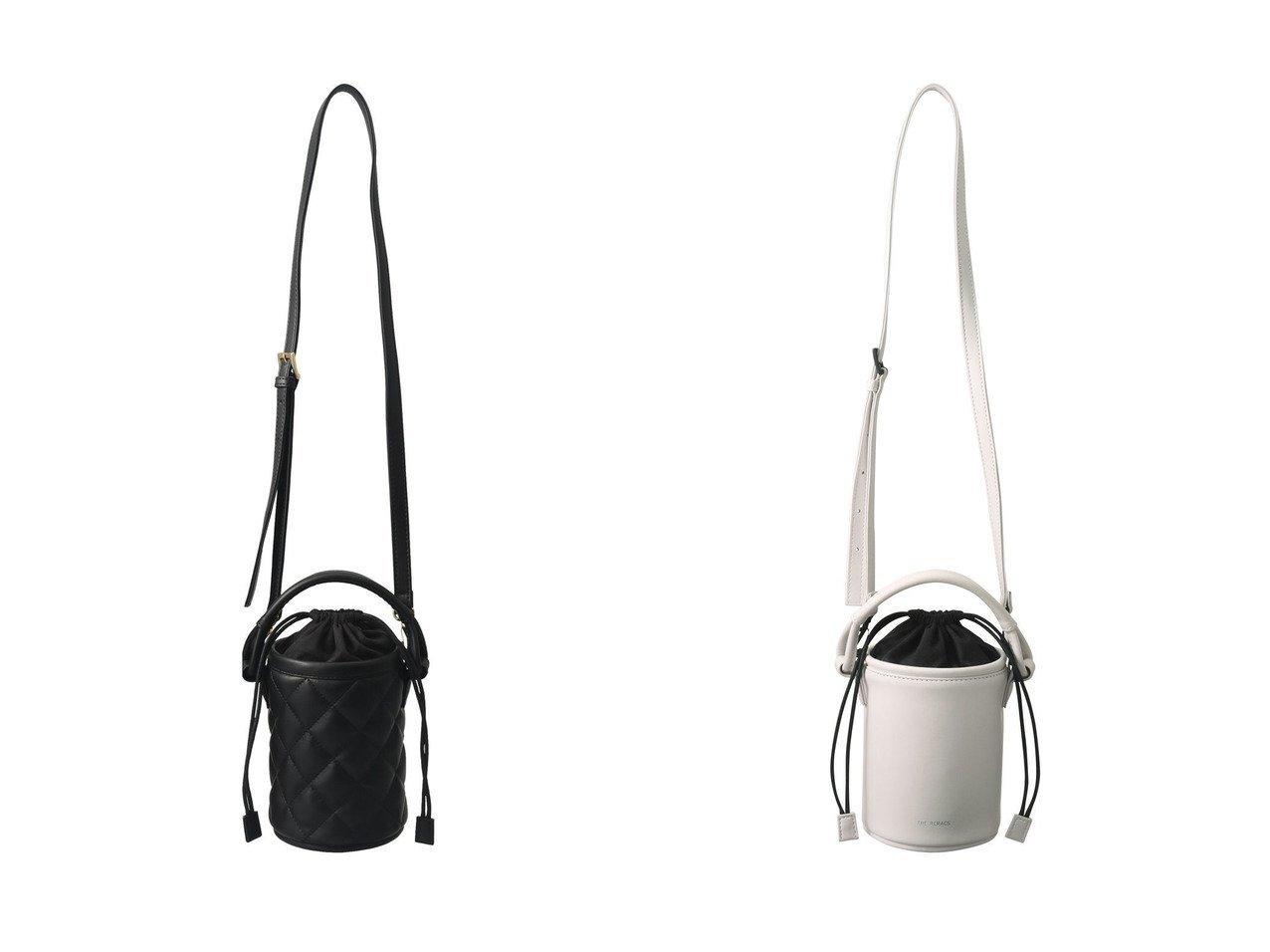 【THE RERACS/ザ リラクス】のミニマムキルトバケットバッグ&シンセティックレザーミニマムバケットバッグ バッグ・鞄のおすすめ!人気、トレンド・レディースファッションの通販 おすすめで人気の流行・トレンド、ファッションの通販商品 メンズファッション・キッズファッション・インテリア・家具・レディースファッション・服の通販 founy(ファニー) https://founy.com/ ファッション Fashion レディースファッション WOMEN バッグ Bag 2021年 2021 2021 春夏 S/S SS Spring/Summer 2021 S/S 春夏 SS Spring/Summer キルティング コンパクト ショルダー バケツ 巾着 春 Spring |ID:crp329100000014987