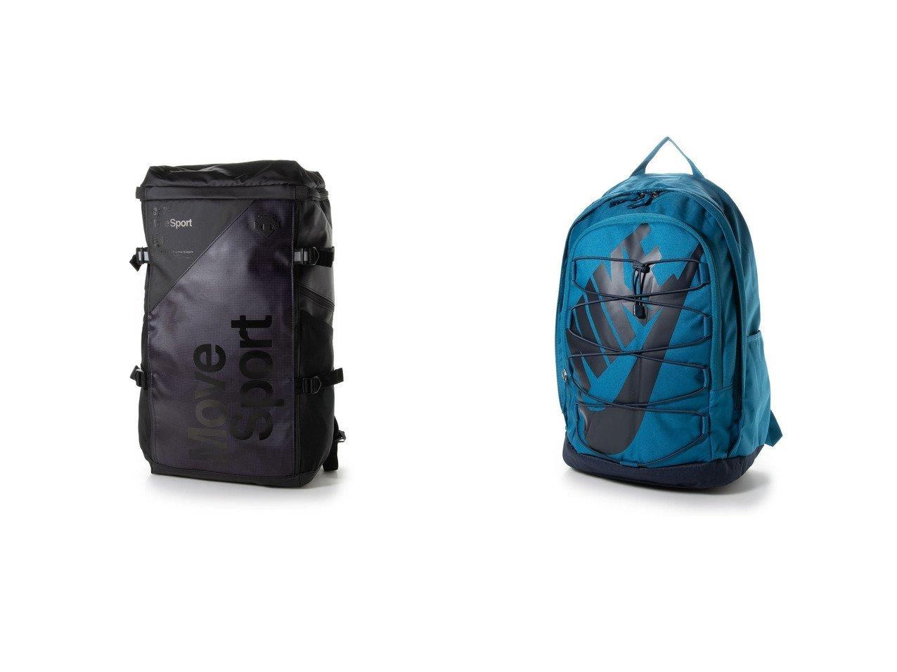 【DESCENTE/デサント】のデイパック スクエアバッグL DMAPJA05&【NIKE/ナイキ】のデイパック ナイキ HAYWARD バックパック BA5883301 バッグ・鞄のおすすめ!人気、トレンド・レディースファッションの通販 おすすめで人気の流行・トレンド、ファッションの通販商品 メンズファッション・キッズファッション・インテリア・家具・レディースファッション・服の通販 founy(ファニー) https://founy.com/ ファッション Fashion レディースファッション WOMEN バッグ Bag 2021年 2021 2021-2022 秋冬 A/W AW Autumn/Winter / FW Fall-Winter 2021-2022 A/W 秋冬 AW Autumn/Winter / FW Fall-Winter ショルダー スクエア デイパック フィット ポケット 切替 財布 |ID:crp329100000014993