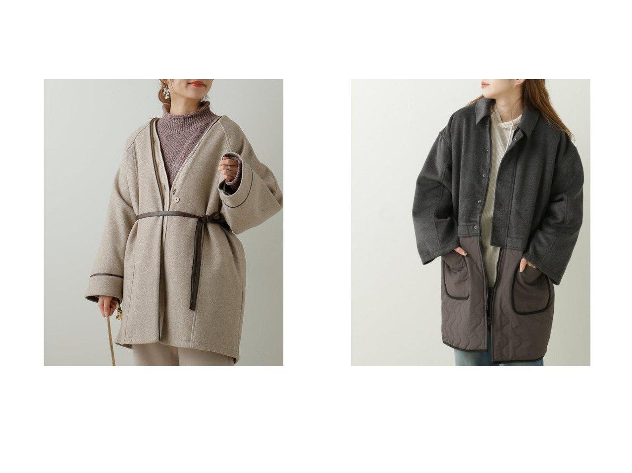 【DOUBLE NAME/ダブルネーム】のSHJ なみなみキルティングレイヤー風コート&【frames RAY CASSIN/フレームスレイカズン】のフェイクウール×キルティングブルゾンSET アウターのおすすめ!人気、トレンド・レディースファッションの通販 おすすめで人気の流行・トレンド、ファッションの通販商品 メンズファッション・キッズファッション・インテリア・家具・レディースファッション・服の通販 founy(ファニー) https://founy.com/ ファッション Fashion レディースファッション WOMEN アウター Coat Outerwear ブルゾン Blouson Jackets コート Coats 2020年 2020 2020-2021 秋冬 A/W AW Autumn/Winter / FW Fall-Winter 2020-2021 A/W 秋冬 AW Autumn/Winter / FW Fall-Winter キルティング トレンド ブルゾン  ID:crp329100000015036