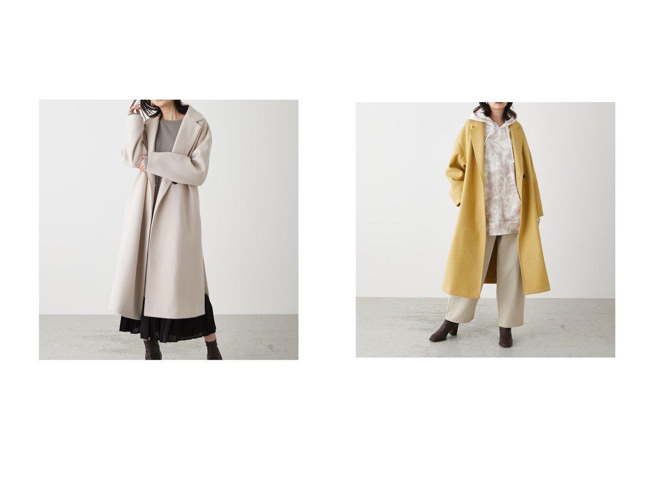 【AZUL by moussy/アズール バイ マウジー】のBEG1 アウターのおすすめ!人気、トレンド・レディースファッションの通販 おすすめで人気の流行・トレンド、ファッションの通販商品 メンズファッション・キッズファッション・インテリア・家具・レディースファッション・服の通販 founy(ファニー) https://founy.com/ ファッション Fashion レディースファッション WOMEN アウター Coat Outerwear コート Coats 洗える スリット チェスターコート デニム パーカー プリーツ 防寒 A/W 秋冬 AW Autumn/Winter / FW Fall-Winter 冬 Winter 2020年 2020 2020-2021 秋冬 A/W AW Autumn/Winter / FW Fall-Winter 2020-2021  ID:crp329100000015038