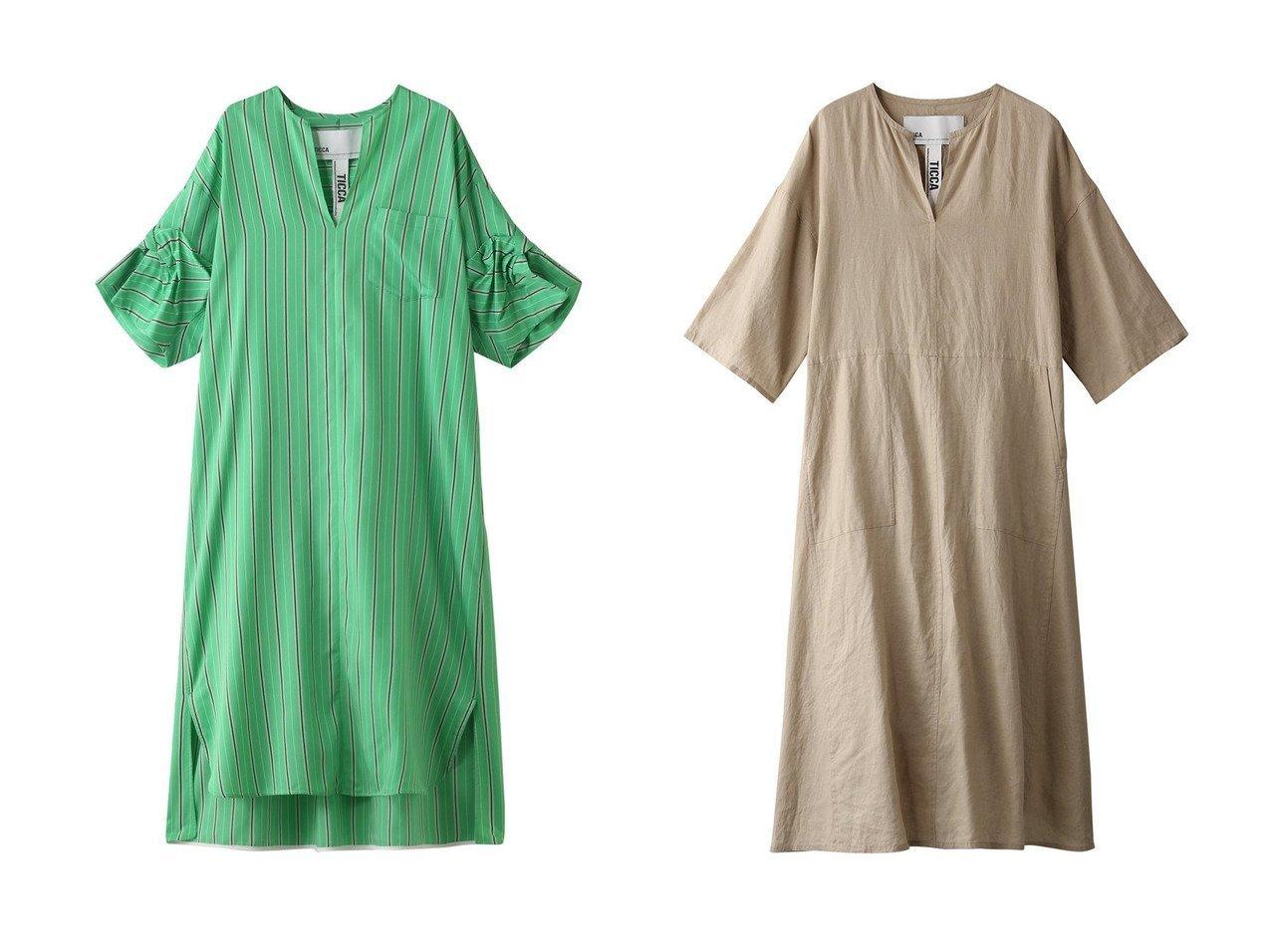 【TICCA/ティッカ】のツイストスリーブストライプワンピース&キーネックロングリネンドレス ワンピース・ドレスのおすすめ!人気、トレンド・レディースファッションの通販 おすすめで人気の流行・トレンド、ファッションの通販商品 メンズファッション・キッズファッション・インテリア・家具・レディースファッション・服の通販 founy(ファニー) https://founy.com/ ファッション Fashion レディースファッション WOMEN ワンピース Dress ドレス Party Dresses 2021年 2021 2021 春夏 S/S SS Spring/Summer 2021 S/S 春夏 SS Spring/Summer スクエア ストライプ レギンス ロング 春 Spring |ID:crp329100000015041
