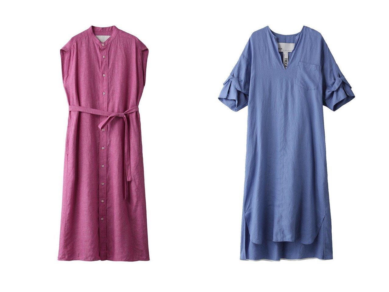 【TICCA/ティッカ】のノーカラーフレンチリネンワンピース&ツイストスリーブリネンワンピース ワンピース・ドレスのおすすめ!人気、トレンド・レディースファッションの通販 おすすめで人気の流行・トレンド、ファッションの通販商品 メンズファッション・キッズファッション・インテリア・家具・レディースファッション・服の通販 founy(ファニー) https://founy.com/ ファッション Fashion レディースファッション WOMEN ワンピース Dress 2021年 2021 2021 春夏 S/S SS Spring/Summer 2021 S/S 春夏 SS Spring/Summer ロング 春 Spring |ID:crp329100000015042