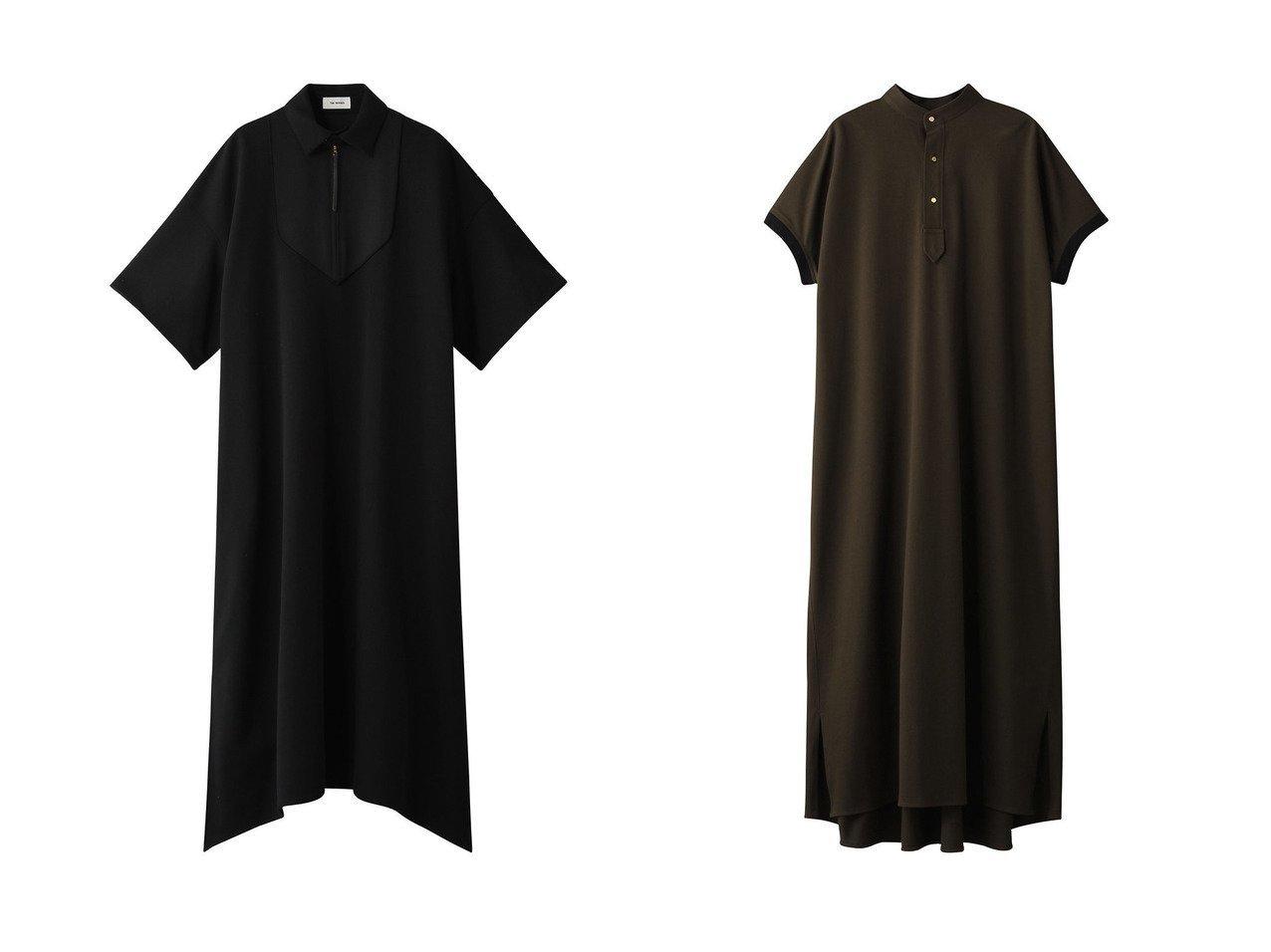 【THE RERACS/ザ リラクス】のウィズカラービブドレス&バンドカラーロングポロシャツ ワンピース・ドレスのおすすめ!人気、トレンド・レディースファッションの通販 おすすめで人気の流行・トレンド、ファッションの通販商品 メンズファッション・キッズファッション・インテリア・家具・レディースファッション・服の通販 founy(ファニー) https://founy.com/ ファッション Fashion レディースファッション WOMEN ワンピース Dress ドレス Party Dresses 2021年 2021 2021 春夏 S/S SS Spring/Summer 2021 S/S 春夏 SS Spring/Summer イレギュラー スリット ロング 春 Spring |ID:crp329100000015048
