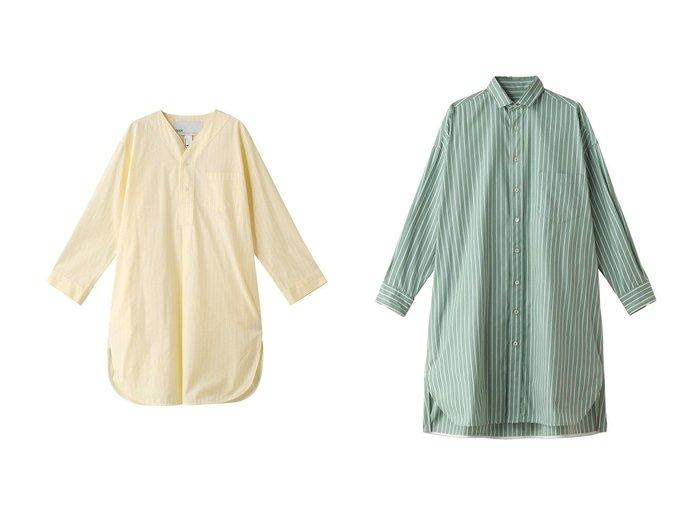 【TICCA/ティッカ】のヘンリーネックチュニック&スクエアチュニックシャツ トップス・カットソーのおすすめ!人気、トレンド・レディースファッションの通販 おすすめファッション通販アイテム レディースファッション・服の通販 founy(ファニー) ファッション Fashion レディースファッション WOMEN トップス Tops Tshirt シャツ/ブラウス Shirts Blouses 2021年 2021 2021 春夏 S/S SS Spring/Summer 2021 S/S 春夏 SS Spring/Summer カットソー ストライプ スリット チュニック 春 Spring 羽織 スマート  ID:crp329100000015061