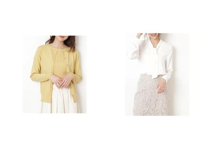 【NATURAL BEAUTY BASIC/ナチュラル ビューティー ベーシック】のスプリングカラーベーシックニット&[洗える]ボウタイブラウス トップス・カットソーのおすすめ!人気、トレンド・レディースファッションの通販 おすすめファッション通販アイテム レディースファッション・服の通販 founy(ファニー) ファッション Fashion レディースファッション WOMEN トップス Tops Tshirt ニット Knit Tops カーディガン Cardigans シャツ/ブラウス Shirts Blouses カーディガン フラット フロント ベーシック 抗菌 ウォッシャブル ジャケット 洗える |ID:crp329100000015106