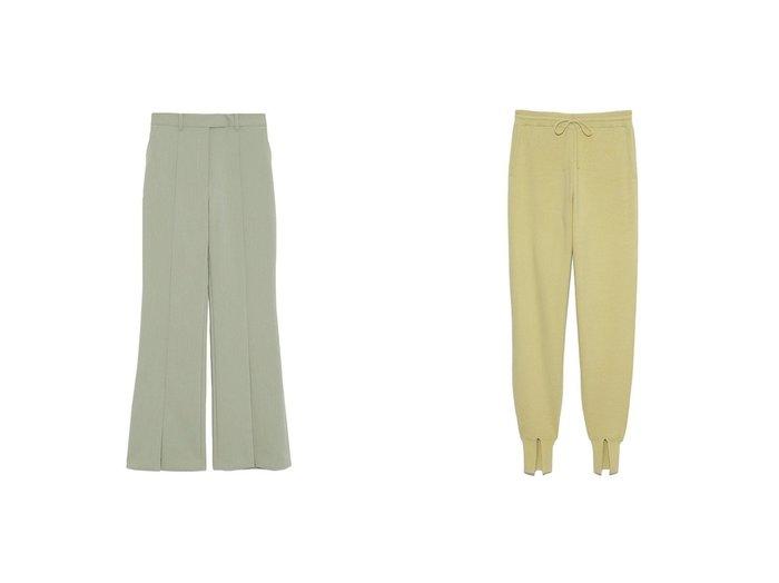 【Mila Owen/ミラオーウェン】の3点SETスーツPT&【Lily Brown/リリーブラウン】のニットジョガーパンツ パンツのおすすめ!人気、トレンド・レディースファッションの通販 おすすめファッション通販アイテム レディースファッション・服の通販 founy(ファニー) ファッション Fashion レディースファッション WOMEN パンツ Pants ジャケット スマート スリット スーツ フロント アクリル 春 Spring セットアップ ポケット マニッシュ 2021年 2021 S/S 春夏 SS Spring/Summer 2021 春夏 S/S SS Spring/Summer 2021  ID:crp329100000015266
