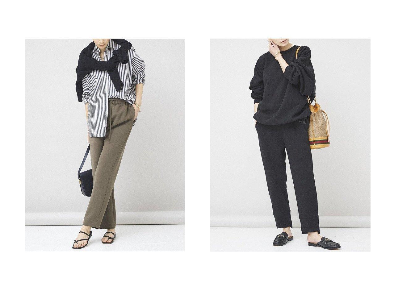 【Curensology/カレンソロジー】のテーパードパンツ&【&RC】ヘビースウェットパンツ パンツのおすすめ!人気、トレンド・レディースファッションの通販 おすすめで人気の流行・トレンド、ファッションの通販商品 メンズファッション・キッズファッション・インテリア・家具・レディースファッション・服の通販 founy(ファニー) https://founy.com/ ファッション Fashion レディースファッション WOMEN パンツ Pants 2021年 2021 2021 春夏 S/S SS Spring/Summer 2021 S/S 春夏 SS Spring/Summer カットソー シンプル トレーナー ビッグ ベーシック 春 Spring |ID:crp329100000015268