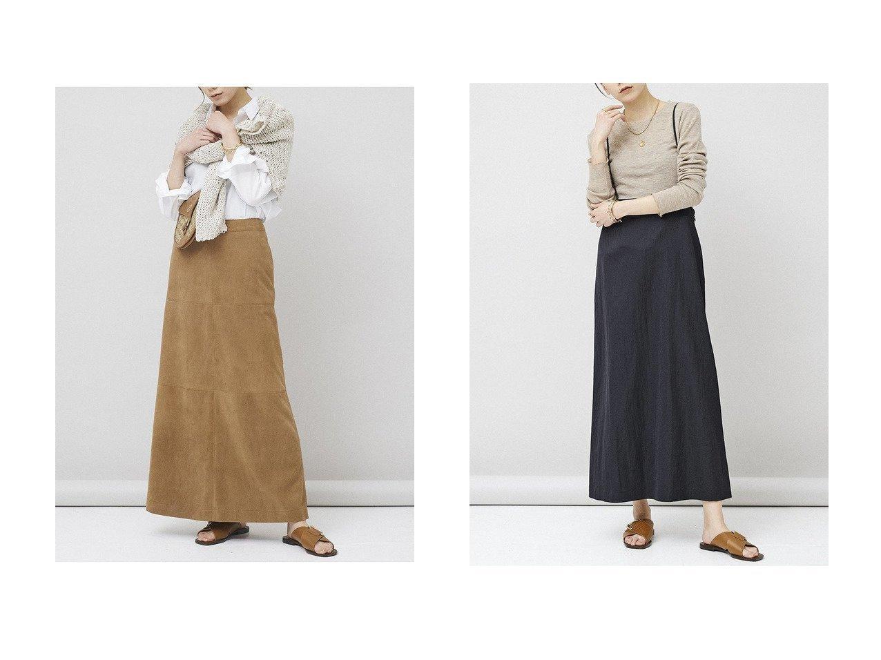 【Curensology/カレンソロジー】のサテンサロペットスカート&スウェードスカート スカートのおすすめ!人気、トレンド・レディースファッションの通販 おすすめで人気の流行・トレンド、ファッションの通販商品 メンズファッション・キッズファッション・インテリア・家具・レディースファッション・服の通販 founy(ファニー) https://founy.com/ ファッション Fashion レディースファッション WOMEN スカート Skirt ロングスカート Long Skirt 2021年 2021 2021 春夏 S/S SS Spring/Summer 2021 S/S 春夏 SS Spring/Summer なめらか リアル ロング 春 Spring  ID:crp329100000015297