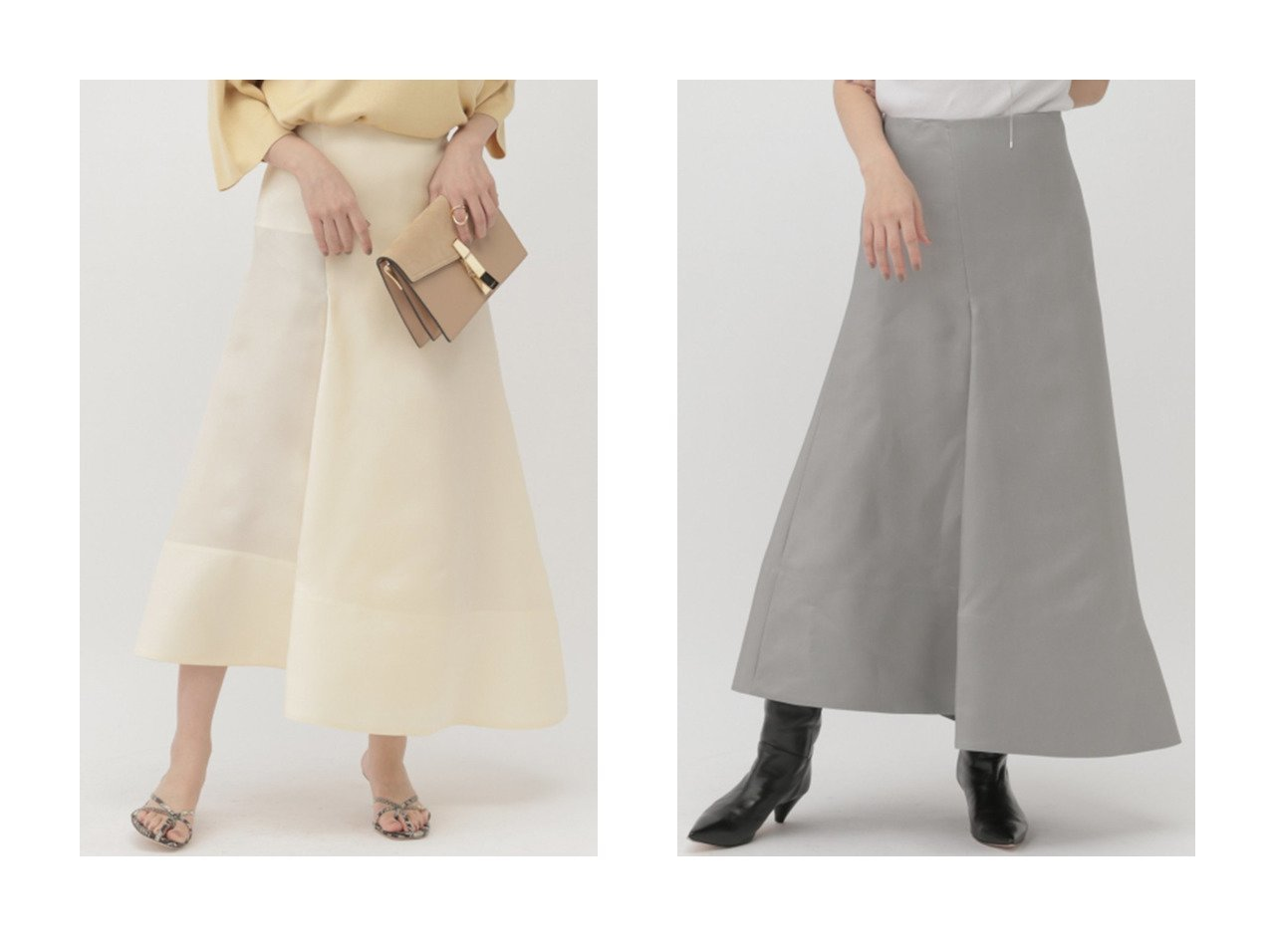 【Chaos/カオス】のダブルオーガンスカート スカートのおすすめ!人気、トレンド・レディースファッションの通販 おすすめで人気の流行・トレンド、ファッションの通販商品 メンズファッション・キッズファッション・インテリア・家具・レディースファッション・服の通販 founy(ファニー) https://founy.com/ ファッション Fashion レディースファッション WOMEN スカート Skirt ロングスカート Long Skirt 2021年 2021 2021 春夏 S/S SS Spring/Summer 2021 S/S 春夏 SS Spring/Summer アシンメトリー オーガンジー シルク ジャケット セットアップ フロント ラップ ロング 春 Spring  ID:crp329100000015298