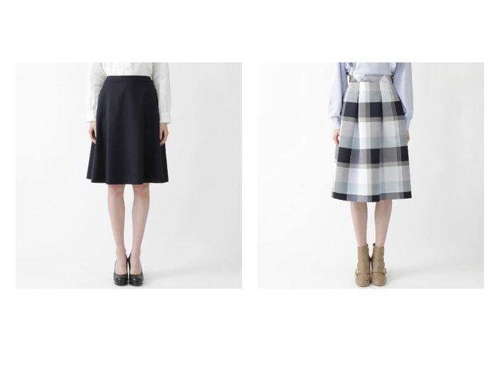 【BLUE LABEL CRESTBRIDGE/ブルーレーベル クレストブリッジ】のエレガントギャバジンフレアスカート&クレストブリッジチェックグログランプリントスカート スカートのおすすめ!人気、トレンド・レディースファッションの通販 おすすめファッション通販アイテム インテリア・キッズ・メンズ・レディースファッション・服の通販 founy(ファニー) https://founy.com/ ファッション Fashion レディースファッション WOMEN スカート Skirt Aライン/フレアスカート Flared A-Line Skirts ショート ジャケット セットアップ フォーマル フレア ベーシック コンパクト リブニット |ID:crp329100000015311