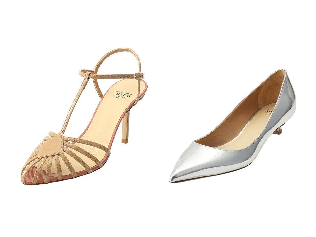 【FRANCESCO RUSSO/フランセスコルッソ 】のTストラップケージサンダル&ミラーレザーパンプス シューズ・靴のおすすめ!人気、トレンド・レディースファッションの通販 おすすめで人気の流行・トレンド、ファッションの通販商品 メンズファッション・キッズファッション・インテリア・家具・レディースファッション・服の通販 founy(ファニー) https://founy.com/ ファッション Fashion レディースファッション WOMEN 2021年 2021 2021 春夏 S/S SS Spring/Summer 2021 S/S 春夏 SS Spring/Summer なめらか サンダル ラップ 春 Spring |ID:crp329100000015319