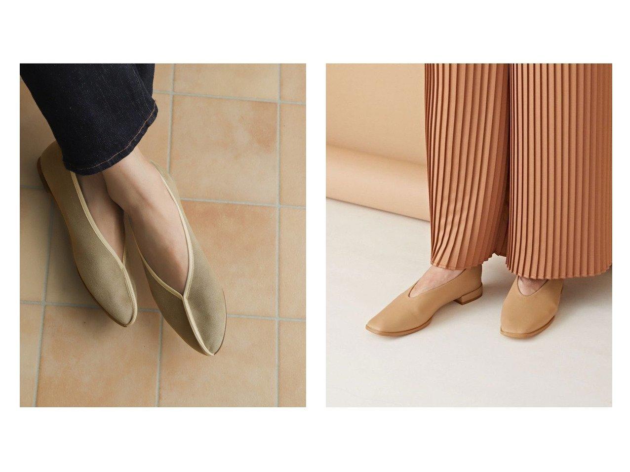 【nano universe/ナノ ユニバース】のスクエアトゥフラットシューズ&【URBAN RESEARCH DOORS/アーバンリサーチ ドアーズ】のライトスエードフラットシューズ シューズ・靴のおすすめ!人気、トレンド・レディースファッションの通販 おすすめで人気の流行・トレンド、ファッションの通販商品 メンズファッション・キッズファッション・インテリア・家具・レディースファッション・服の通販 founy(ファニー) https://founy.com/ ファッション Fashion レディースファッション WOMEN NEW・新作・新着・新入荷 New Arrivals シューズ シンプル スエード トレンド バレエ フラット 春 Spring スクエア スタンダード フォルム |ID:crp329100000015320