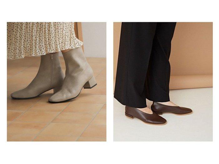 【nano universe/ナノ ユニバース】のスクエアトゥフラットシューズ&【URBAN RESEARCH DOORS/アーバンリサーチ ドアーズ】のストレッチレザーショートブーツ シューズ・靴のおすすめ!人気、トレンド・レディースファッションの通販 おすすめファッション通販アイテム インテリア・キッズ・メンズ・レディースファッション・服の通販 founy(ファニー) https://founy.com/ ファッション Fashion レディースファッション WOMEN NEW・新作・新着・新入荷 New Arrivals クッション シューズ ショート ジップ ストレッチ センター トレンド フェイクレザー ベーシック 春 Spring スクエア スタンダード フォルム フラット |ID:crp329100000015321
