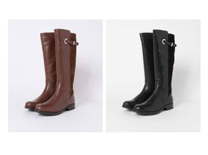 【Sonny Label / URBAN RESEARCH/サニーレーベル】のAmparo Infantes ロングブーツ シューズ・靴のおすすめ!人気、トレンド・レディースファッションの通販 おすすめファッション通販アイテム レディースファッション・服の通販 founy(ファニー) ファッション Fashion レディースファッション WOMEN シューズ スエード ファブリック ロング |ID:crp329100000015325