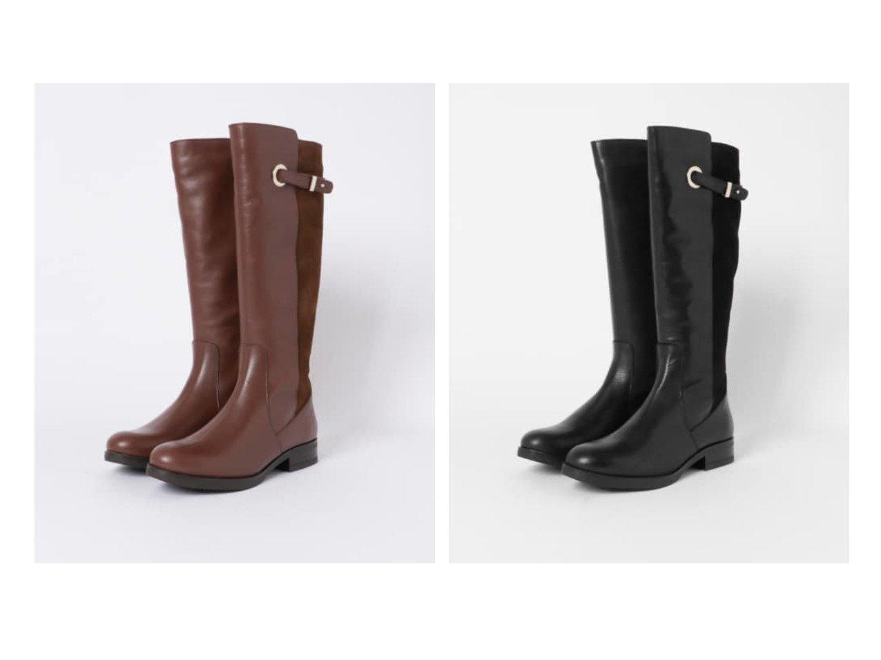 【Sonny Label / URBAN RESEARCH/サニーレーベル】のAmparo Infantes ロングブーツ シューズ・靴のおすすめ!人気、トレンド・レディースファッションの通販 おすすめで人気の流行・トレンド、ファッションの通販商品 メンズファッション・キッズファッション・インテリア・家具・レディースファッション・服の通販 founy(ファニー) https://founy.com/ ファッション Fashion レディースファッション WOMEN シューズ スエード ファブリック ロング |ID:crp329100000015325