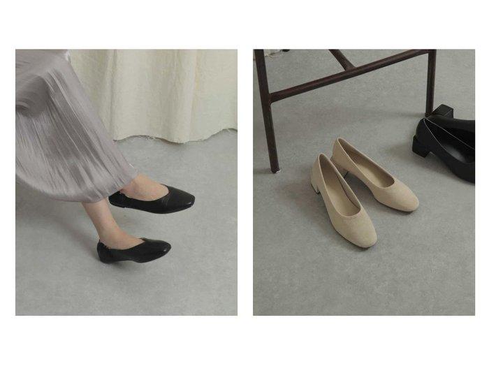 【SENSE OF PLACE / URBAN RESEARCH/センス オブ プレイス】のスクエアトウVカットフラットシューズ&【Sサイズ/WEB限定】ブロックヒールソフトパンプス シューズ・靴のおすすめ!人気、トレンド・レディースファッションの通販 おすすめファッション通販アイテム レディースファッション・服の通販 founy(ファニー) ファッション Fashion レディースファッション WOMEN シューズ スクエア 人気 フィット フラット 楽ちん |ID:crp329100000015326