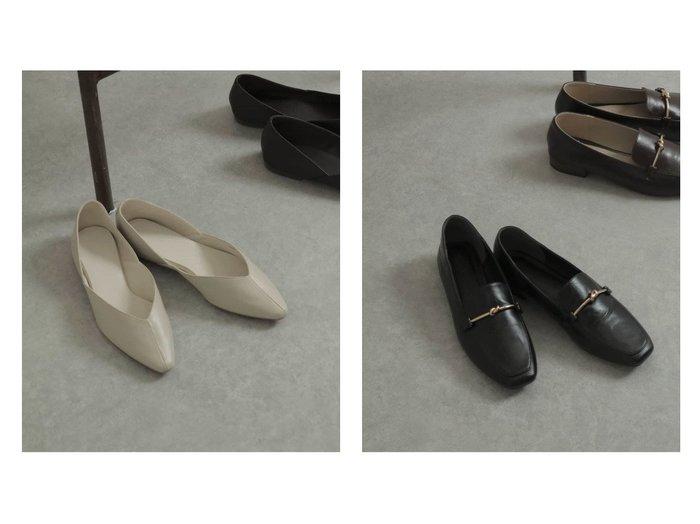 【SENSE OF PLACE / URBAN RESEARCH/センス オブ プレイス】の【Sサイズ/WEB限定】センターシームポインテッドフラットパンプス&スクエアトウメタルノットローファー シューズ・靴のおすすめ!人気、トレンド・レディースファッションの通販 おすすめファッション通販アイテム レディースファッション・服の通販 founy(ファニー) ファッション Fashion レディースファッション WOMEN インソール クッション 今季 シューズ トレンド 定番 Standard フェミニン 春 Spring 人気 メタル リネン |ID:crp329100000015327