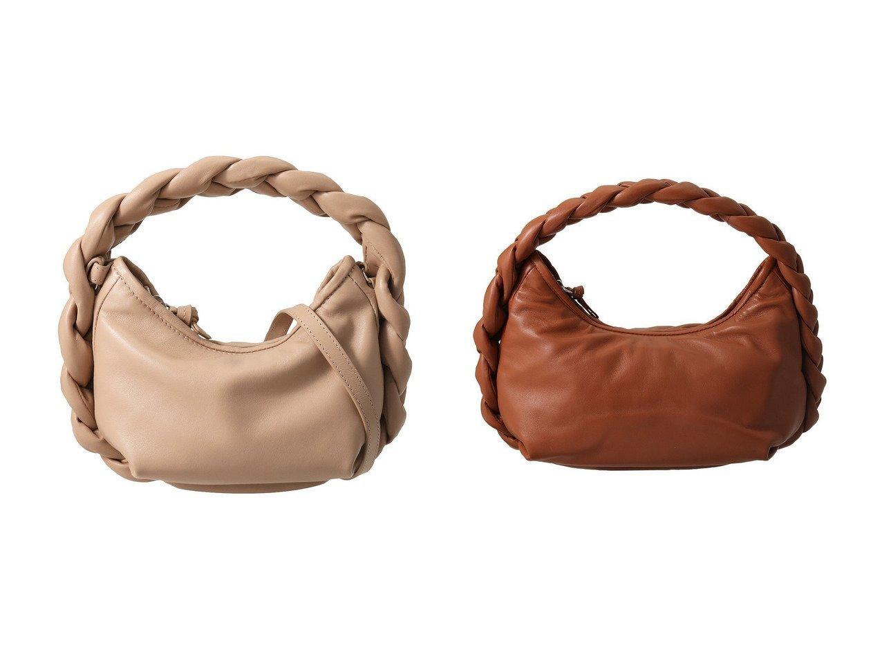 【martinique/マルティニーク】の【HEREU】ラムスキン編み込みハンドルバッグ&【HEREU】ラムスキン編み込みハンドルバッグ バッグ・鞄のおすすめ!人気、トレンド・レディースファッションの通販 おすすめで人気の流行・トレンド、ファッションの通販商品 メンズファッション・キッズファッション・インテリア・家具・レディースファッション・服の通販 founy(ファニー) https://founy.com/ ファッション Fashion レディースファッション WOMEN バッグ Bag 2021年 2021 2021 春夏 S/S SS Spring/Summer 2021 S/S 春夏 SS Spring/Summer なめらか コンパクト ハンドバッグ 春 Spring |ID:crp329100000015337