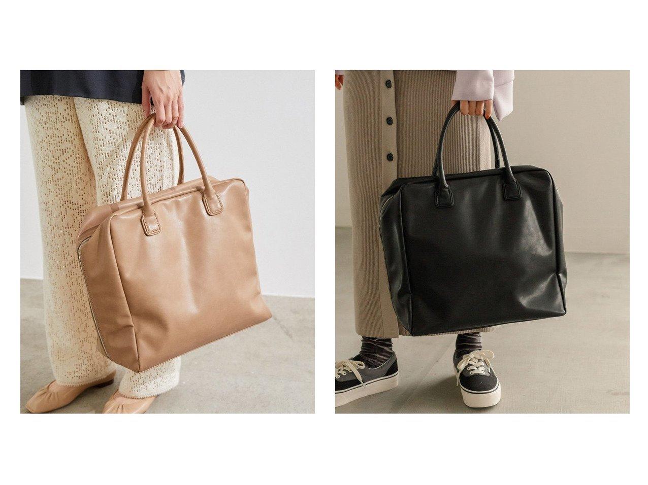 【Adam et Rope/アダム エ ロペ】のソフトビックボストン バッグ・鞄のおすすめ!人気、トレンド・レディースファッションの通販 おすすめで人気の流行・トレンド、ファッションの通販商品 メンズファッション・キッズファッション・インテリア・家具・レディースファッション・服の通販 founy(ファニー) https://founy.com/ ファッション Fashion レディースファッション WOMEN A/W 秋冬 AW Autumn/Winter / FW Fall-Winter シンプル ボストンバッグ |ID:crp329100000015343