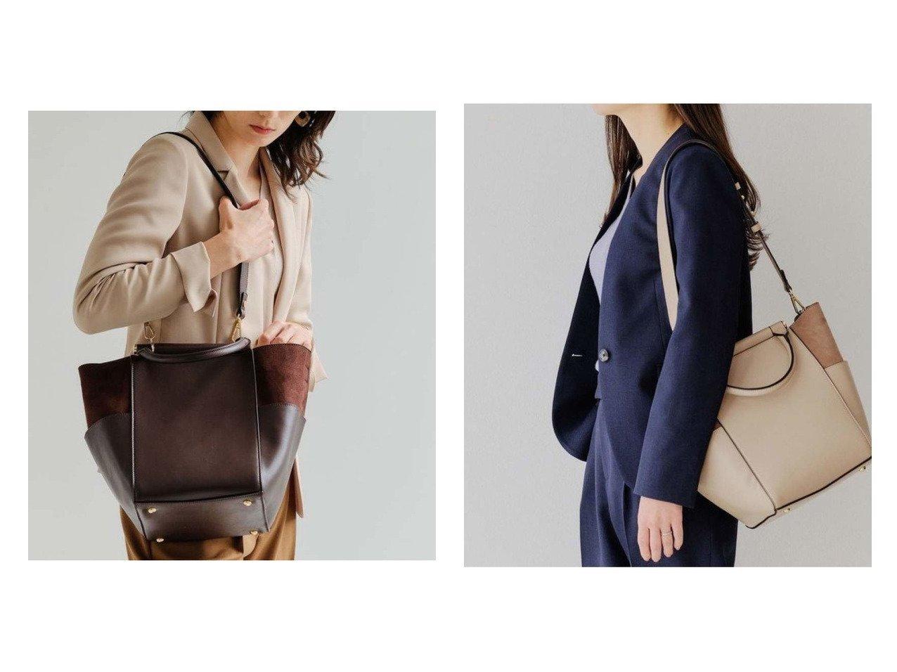 【green label relaxing / UNITED ARROWS/グリーンレーベル リラクシング / ユナイテッドアローズ】のCS イソザイコンビ 2WAY NEW ショルダーバッグ バッグ・鞄のおすすめ!人気、トレンド・レディースファッションの通販 おすすめで人気の流行・トレンド、ファッションの通販商品 メンズファッション・キッズファッション・インテリア・家具・レディースファッション・服の通販 founy(ファニー) https://founy.com/ ファッション Fashion レディースファッション WOMEN バッグ Bag コンビ ショルダー スエード ポケット ポーチ |ID:crp329100000015345