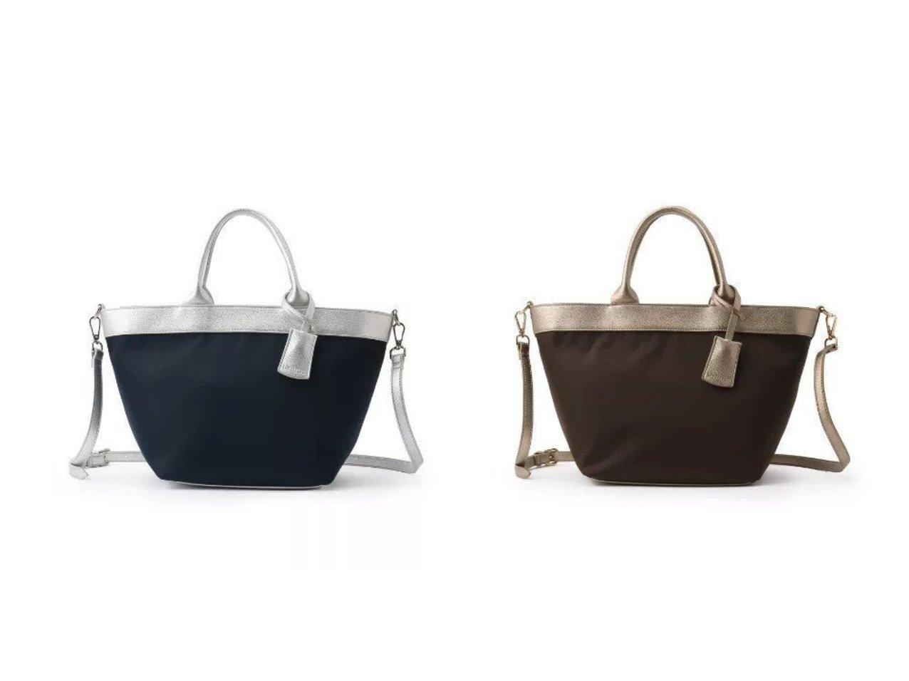 【UNTITLED/アンタイトル】の合皮ナイロン切り替えトート バッグ・鞄のおすすめ!人気、トレンド・レディースファッションの通販 おすすめで人気の流行・トレンド、ファッションの通販商品 メンズファッション・キッズファッション・インテリア・家具・レディースファッション・服の通販 founy(ファニー) https://founy.com/ ファッション Fashion レディースファッション WOMEN バッグ Bag フェイクレザー フォルム ポケット ラップ 軽量 |ID:crp329100000015347