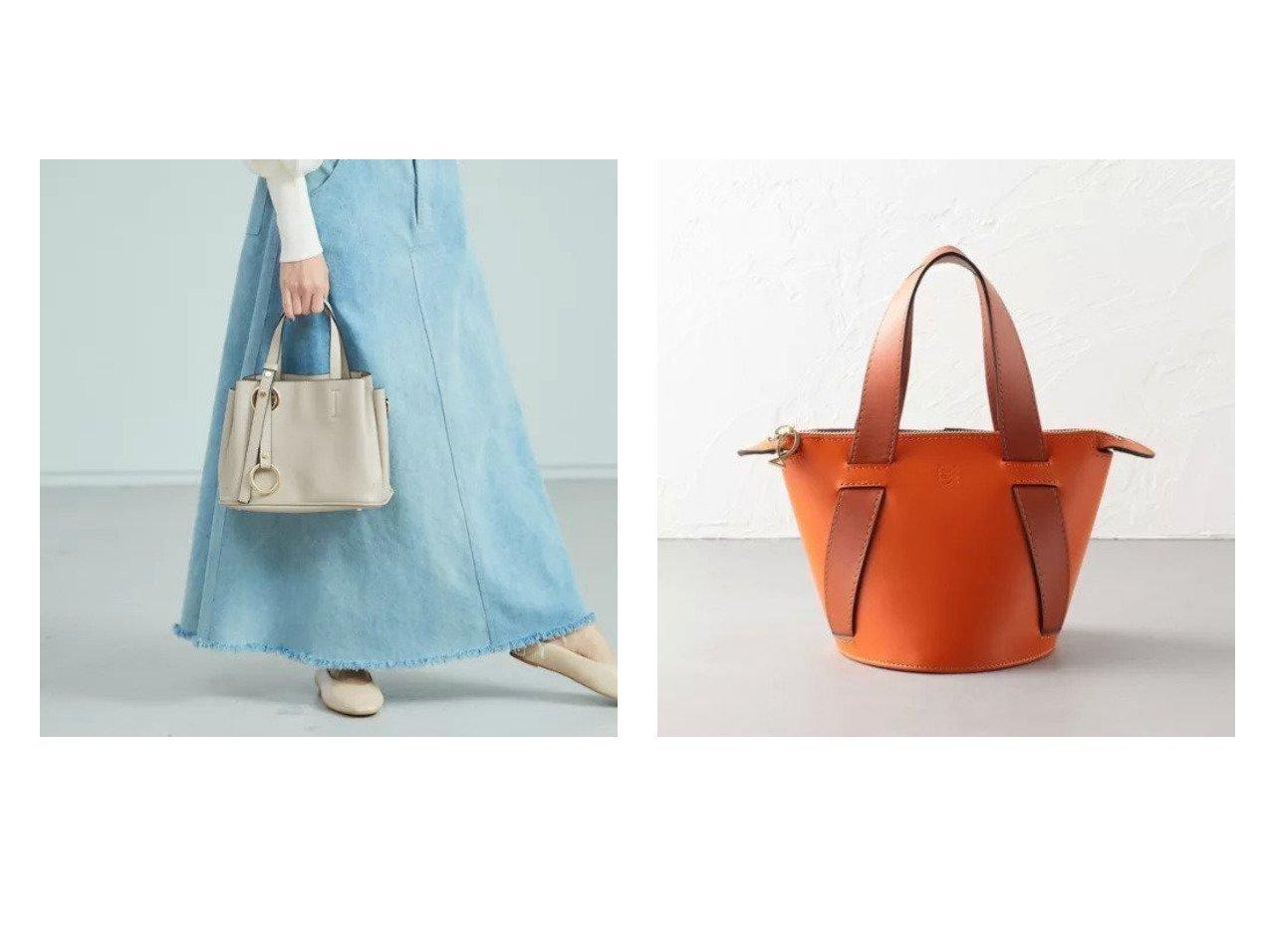 【Odette e Odile/オデット エ オディール】の【別注】ALMIRA Bucket Bag&【Rouge vif/ルージュ ヴィフ】の【Avancer】2wayリングタッセル付きハンドバッグ バッグ・鞄のおすすめ!人気、トレンド・レディースファッションの通販 おすすめで人気の流行・トレンド、ファッションの通販商品 メンズファッション・キッズファッション・インテリア・家具・レディースファッション・服の通販 founy(ファニー) https://founy.com/ ファッション Fashion レディースファッション WOMEN バッグ Bag ショルダー シンプル トレンド ハンドバッグ ベーシック ポケット 別注 |ID:crp329100000015351