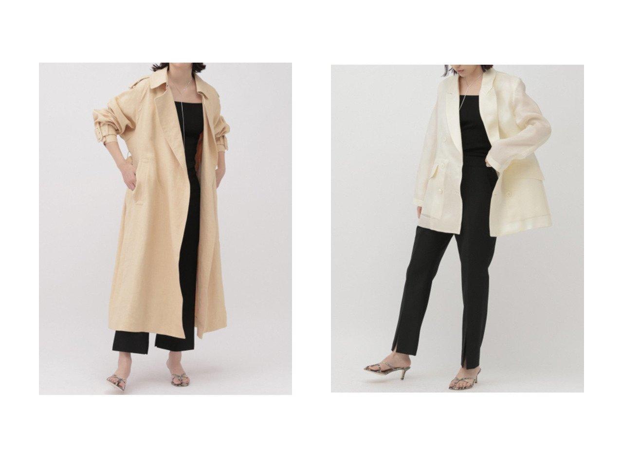 【Chaos/カオス】のダブルオーガンジャケット&インセタオーバーコート アウターのおすすめ!人気、トレンド・レディースファッションの通販 おすすめで人気の流行・トレンド、ファッションの通販商品 メンズファッション・キッズファッション・インテリア・家具・レディースファッション・服の通販 founy(ファニー) https://founy.com/ ファッション Fashion レディースファッション WOMEN アウター Coat Outerwear コート Coats ジャケット Jackets 2021年 2021 2021 春夏 S/S SS Spring/Summer 2021 S/S 春夏 SS Spring/Summer イタリア リネン ロング 春 Spring |ID:crp329100000015378