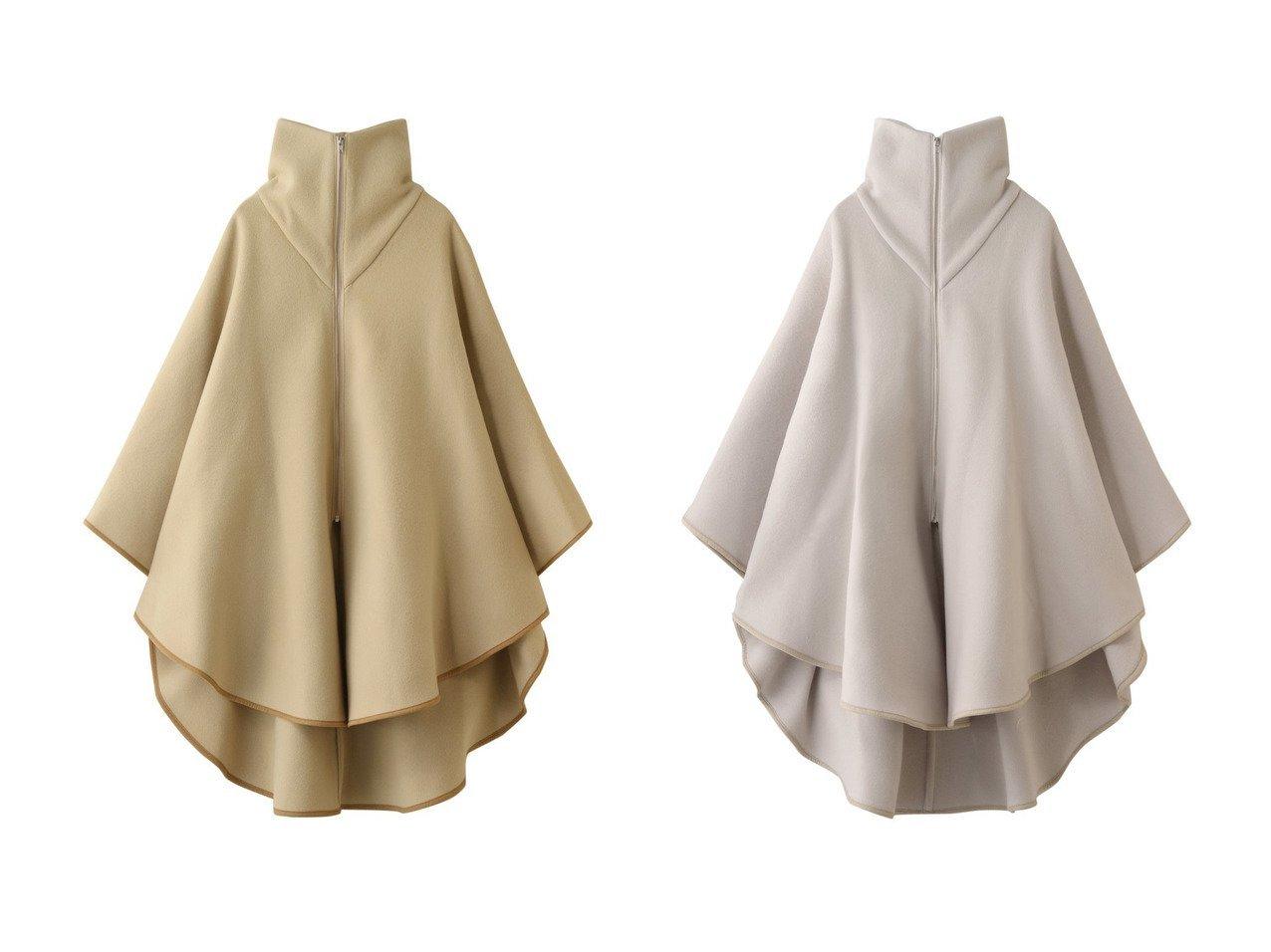 【Whim Gazette/ウィムガゼット】のパイピングポンチョ アウターのおすすめ!人気、トレンド・レディースファッションの通販 おすすめで人気の流行・トレンド、ファッションの通販商品 メンズファッション・キッズファッション・インテリア・家具・レディースファッション・服の通販 founy(ファニー) https://founy.com/ ファッション Fashion レディースファッション WOMEN アウター Coat Outerwear コート Coats ポンチョ Ponchos ショート シンプル パイピング フロント ポンチョ 防寒 |ID:crp329100000015381