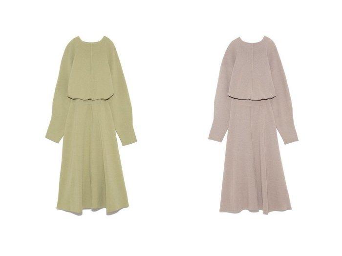 【Mila Owen/ミラオーウェン】のボトルネックブラウジングフレアニットワンピース ワンピース・ドレスのおすすめ!人気、トレンド・レディースファッションの通販 おすすめファッション通販アイテム レディースファッション・服の通販 founy(ファニー) ファッション Fashion レディースファッション WOMEN ワンピース Dress ニットワンピース Knit Dresses NEW・新作・新着・新入荷 New Arrivals スマート ブラウジング ボトルネック  ID:crp329100000015412