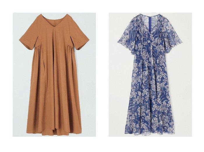 【ANAYI/アナイ】のコンパクトコットンギャザーワンピース&ヨーリューフラワープリントスキッパーワンピース ワンピース・ドレスのおすすめ!人気、トレンド・レディースファッションの通販 おすすめファッション通販アイテム レディースファッション・服の通販 founy(ファニー) ファッション Fashion レディースファッション WOMEN ワンピース Dress 2021年 2021 2021 春夏 S/S SS Spring/Summer 2021 S/S 春夏 SS Spring/Summer エレガント ギャザー デコルテ パーティ フォルム ロング 春 Spring |ID:crp329100000015421
