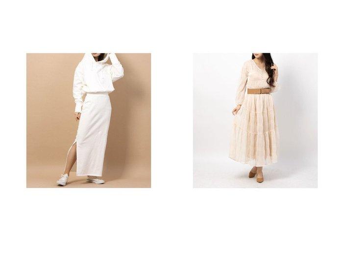 【nina mew/ニーナミュウ】のスリットスウェットワンピース&【RANDA/ランダ】のマジョリカプリーツワンピース ワンピース・ドレスのおすすめ!人気、トレンド・レディースファッションの通販 おすすめファッション通販アイテム レディースファッション・服の通販 founy(ファニー) ファッション Fashion レディースファッション WOMEN ワンピース Dress 2020年 2020 2020-2021 秋冬 A/W AW Autumn/Winter / FW Fall-Winter 2020-2021 A/W 秋冬 AW Autumn/Winter / FW Fall-Winter スリット パーカー 2021年 2021 2021 春夏 S/S SS Spring/Summer 2021 S/S 春夏 SS Spring/Summer インナー キャミソール プリーツ ヘムライン リラックス 春 Spring  ID:crp329100000015446