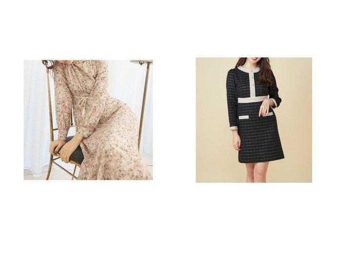 【titty&Co./ティティー アンド コー】のシアーフラワーワンピース&【MiiA/ミーア】の配色ツイードワンピース ワンピース・ドレスのおすすめ!人気、トレンド・レディースファッションの通販 おすすめファッション通販アイテム レディースファッション・服の通販 founy(ファニー) ファッション Fashion レディースファッション WOMEN ワンピース Dress 2021年 2021 2021 春夏 S/S SS Spring/Summer 2021 S/S 春夏 SS Spring/Summer インナー シンプル ロング 冬 Winter 切替 春 Spring 2020年 2020 2020-2021 秋冬 A/W AW Autumn/Winter / FW Fall-Winter 2020-2021 A/W 秋冬 AW Autumn/Winter / FW Fall-Winter ツイード パール |ID:crp329100000015447