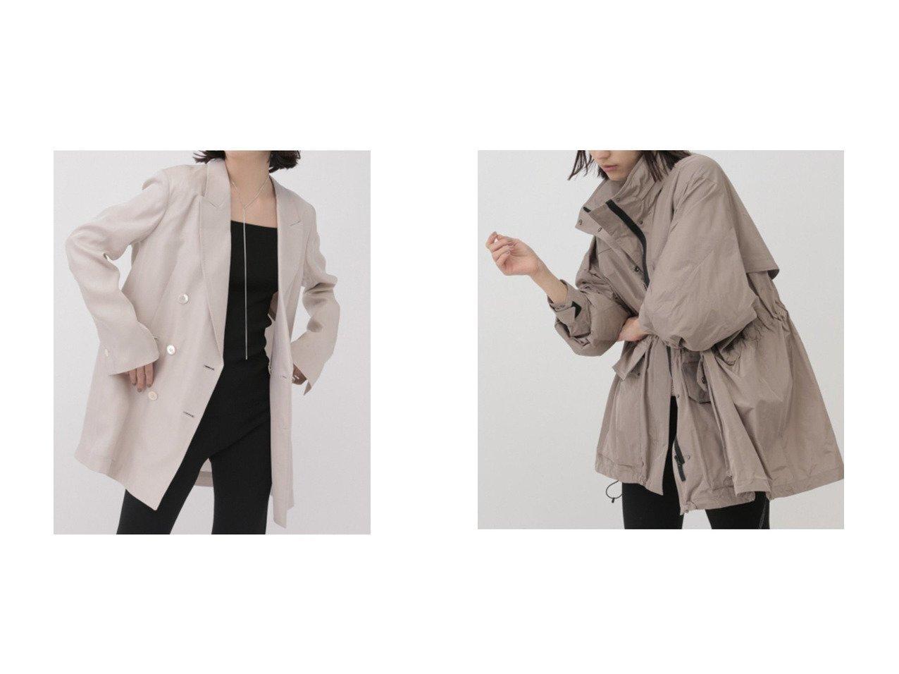 【Chaos/カオス】のグリチルオーバージャケット&プリズムライトブルゾン アウターのおすすめ!人気、トレンド・レディースファッションの通販 おすすめで人気の流行・トレンド、ファッションの通販商品 メンズファッション・キッズファッション・インテリア・家具・レディースファッション・服の通販 founy(ファニー) https://founy.com/ ファッション Fashion レディースファッション WOMEN アウター Coat Outerwear ジャケット Jackets ブルゾン Blouson Jackets 2021年 2021 2021 春夏 S/S SS Spring/Summer 2021 S/S 春夏 SS Spring/Summer イタリア シルク ジャケット スリット ダブル ラグジュアリー 春 Spring コンパクト タフタ ブルゾン ポケット 軽量  ID:crp329100000015451