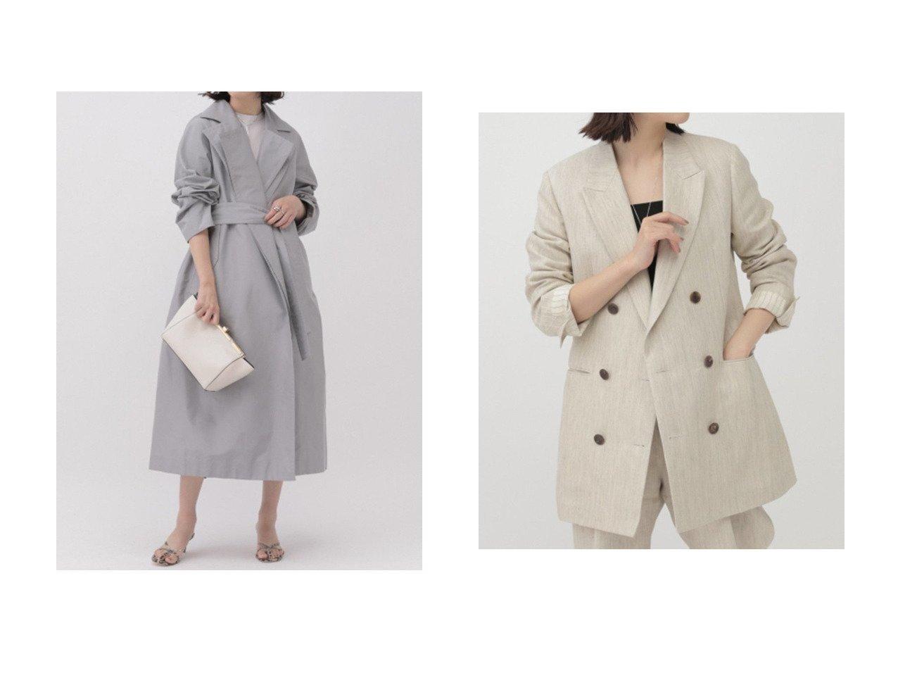 【Chaos/カオス】のアラッシドコート&グリーシャトップジャケット アウターのおすすめ!人気、トレンド・レディースファッションの通販 おすすめで人気の流行・トレンド、ファッションの通販商品 メンズファッション・キッズファッション・インテリア・家具・レディースファッション・服の通販 founy(ファニー) https://founy.com/ ファッション Fashion レディースファッション WOMEN アウター Coat Outerwear コート Coats ジャケット Jackets 2021年 2021 2021 春夏 S/S SS Spring/Summer 2021 S/S 春夏 SS Spring/Summer ライナー ロング 春 Spring  ID:crp329100000015455