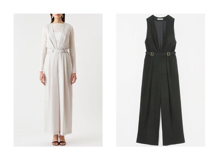 【ANAYI/アナイ】のソフトダブルクロスオールインワン ワンピース・ドレスのおすすめ!人気、トレンド・レディースファッションの通販 おすすめファッション通販アイテム レディースファッション・服の通販 founy(ファニー) ファッション Fashion レディースファッション WOMEN パンツ Pants 2021年 2021 2021 春夏 S/S SS Spring/Summer 2021 S/S 春夏 SS Spring/Summer パーティ 春 Spring |ID:crp329100000015479