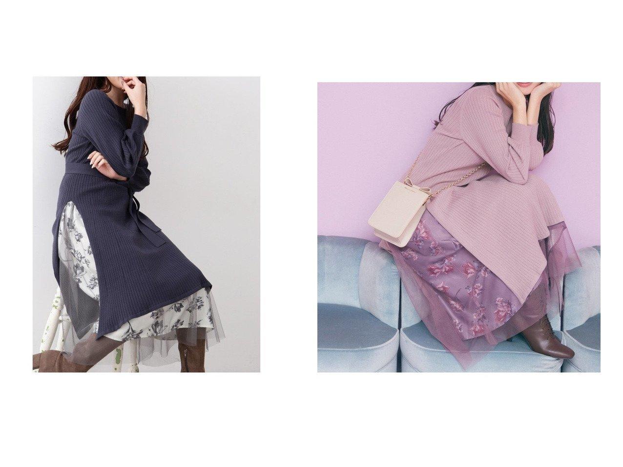 【JILL by JILLSTUART/ジルバイジルスチュアート】のスリットワンピ×トーンフラワーset ワンピース・ドレスのおすすめ!人気、トレンド・レディースファッションの通販 おすすめで人気の流行・トレンド、ファッションの通販商品 メンズファッション・キッズファッション・インテリア・家具・レディースファッション・服の通販 founy(ファニー) https://founy.com/ ファッション Fashion レディースファッション WOMEN ワンピース Dress NEW・新作・新着・新入荷 New Arrivals スリット チュール フラワー  ID:crp329100000015480