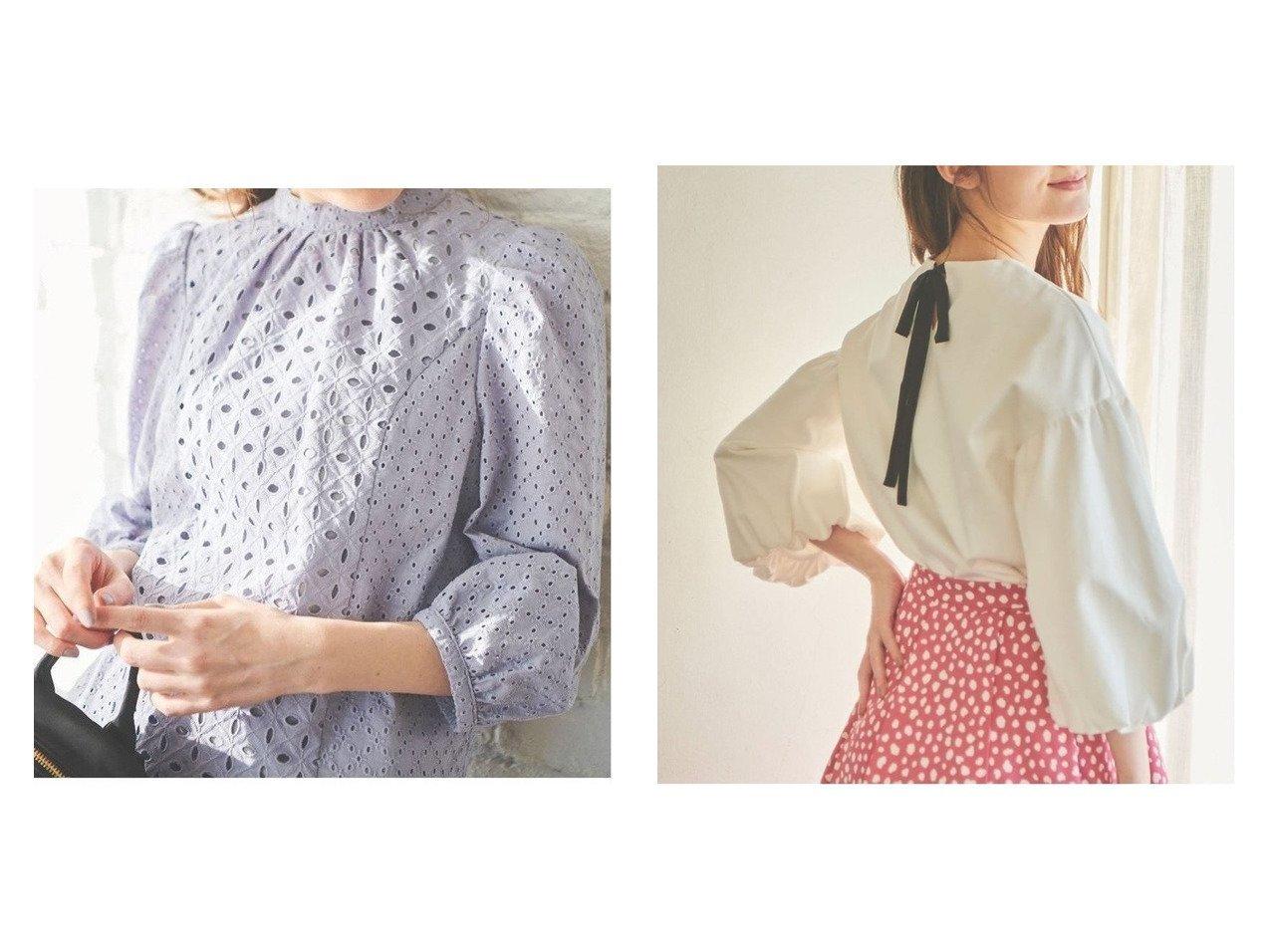 【31 Sons de mode/トランテアン ソン ドゥ モード】のコットン刺繍バックリボンブラウス&ポンチボリュームスリーブバックリボンカットソー トップス・カットソーのおすすめ!人気、トレンド・レディースファッションの通販 おすすめで人気の流行・トレンド、ファッションの通販商品 メンズファッション・キッズファッション・インテリア・家具・レディースファッション・服の通販 founy(ファニー) https://founy.com/ ファッション Fashion レディースファッション WOMEN トップス Tops Tshirt カットソー Cut and Sewn ボリュームスリーブ / フリル袖 Volume Sleeve シャツ/ブラウス Shirts Blouses NEW・新作・新着・新入荷 New Arrivals 2021年 2021 2021 春夏 S/S SS Spring/Summer 2021 S/S 春夏 SS Spring/Summer カットソー シンプル デニム フロント リボン スタンド スリーブ レース 春 Spring 長袖 |ID:crp329100000015494