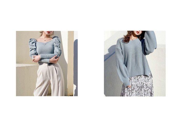 【Darich/ダーリッチ】のギャザーパフショルニット&スリットVネックニット トップス・カットソーのおすすめ!人気、トレンド・レディースファッションの通販 おすすめファッション通販アイテム レディースファッション・服の通販 founy(ファニー)  ファッション Fashion レディースファッション WOMEN トップス Tops Tshirt ニット Knit Tops Vネック V-Neck 2021年 2021 2021 春夏 S/S SS Spring/Summer 2021 S/S 春夏 SS Spring/Summer イエロー シンプル スリット 春 Spring |ID:crp329100000015556