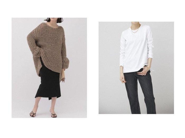 【Curensology/カレンソロジー】の【C.S.G】スーピマコットンプルオーバー&【Chaos/カオス】のロービングリネンニットプルオーバー トップス・カットソーのおすすめ!人気、トレンド・レディースファッションの通販 おすすめファッション通販アイテム レディースファッション・服の通販 founy(ファニー) ファッション Fashion レディースファッション WOMEN トップス Tops Tshirt シャツ/ブラウス Shirts Blouses ロング / Tシャツ T-Shirts プルオーバー Pullover カットソー Cut and Sewn ニット Knit Tops 2021年 2021 2021 春夏 S/S SS Spring/Summer 2021 S/S 春夏 SS Spring/Summer なめらか インナー カットソー カーディガン サロペット シルク シンプル スリーブ デニム ベーシック ラグジュアリー ロング 春 Spring |ID:crp329100000015578