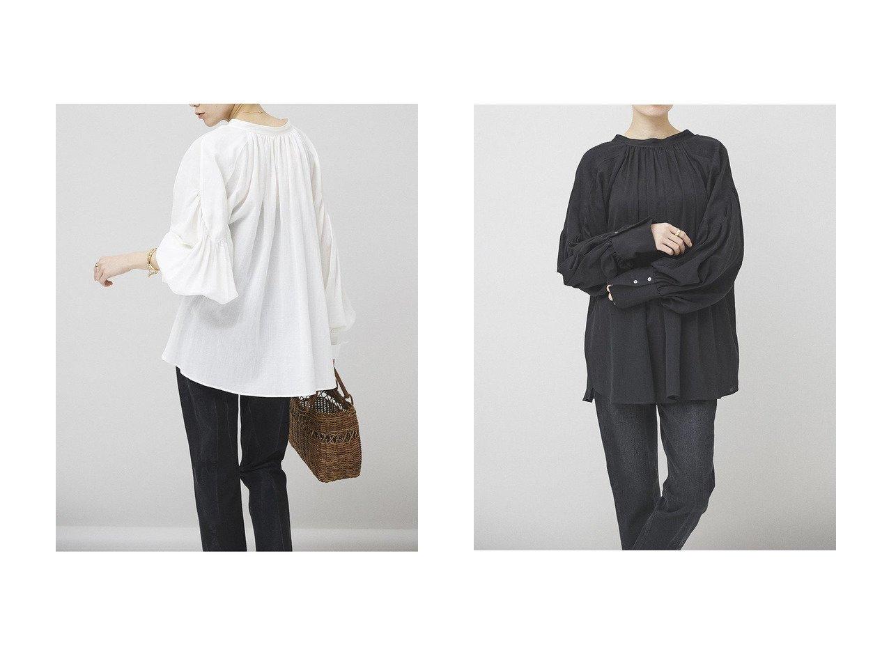 【Curensology/カレンソロジー】の2WAYギャザーブラウス トップス・カットソーのおすすめ!人気、トレンド・レディースファッションの通販 おすすめで人気の流行・トレンド、ファッションの通販商品 メンズファッション・キッズファッション・インテリア・家具・レディースファッション・服の通販 founy(ファニー) https://founy.com/ ファッション Fashion レディースファッション WOMEN トップス Tops Tshirt シャツ/ブラウス Shirts Blouses 2021年 2021 2021 春夏 S/S SS Spring/Summer 2021 S/S 春夏 SS Spring/Summer ギャザー シンプル スリーブ デニム ベーシック ヨーク ロング ヴィンテージ 春 Spring |ID:crp329100000015580