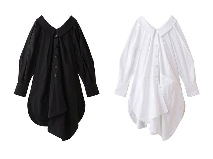 【ENFOLD/エンフォルド】のチュニック トップス・カットソーのおすすめ!人気、トレンド・レディースファッションの通販 おすすめファッション通販アイテム インテリア・キッズ・メンズ・レディースファッション・服の通販 founy(ファニー) https://founy.com/ ファッション Fashion レディースファッション WOMEN トップス Tops Tshirt 2021年 2021 2021 春夏 S/S SS Spring/Summer 2021 S/S 春夏 SS Spring/Summer イレギュラー チュニック ドレープ 春 Spring  ID:crp329100000015581