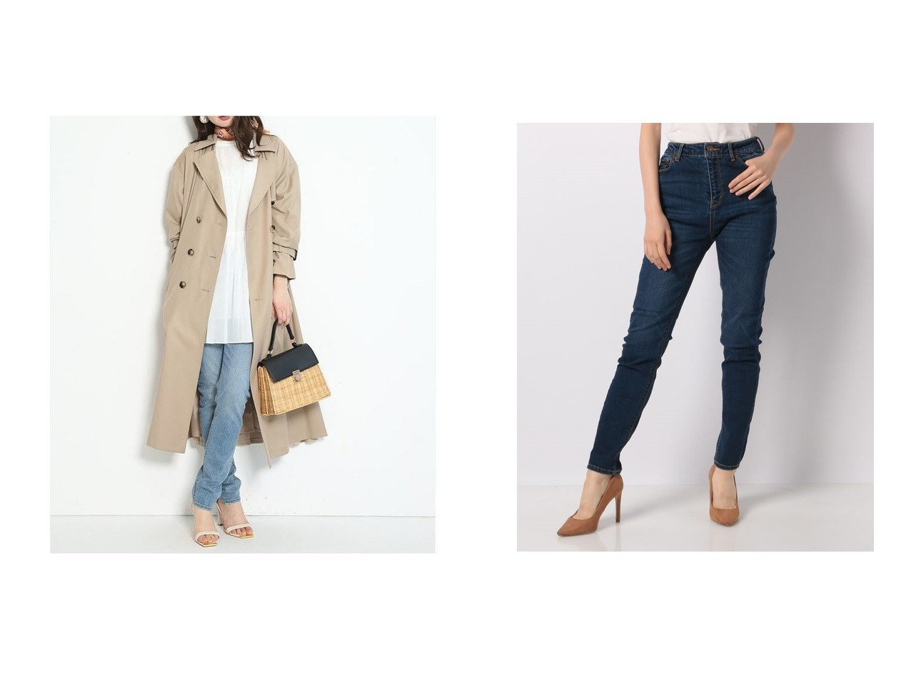 【Mystrada/マイストラーダ】のスキニーデニム パンツのおすすめ!人気、トレンド・レディースファッションの通販  おすすめで人気の流行・トレンド、ファッションの通販商品 メンズファッション・キッズファッション・インテリア・家具・レディースファッション・服の通販 founy(ファニー) https://founy.com/ ファッション Fashion レディースファッション WOMEN パンツ Pants デニムパンツ Denim Pants スキニーデニム デニム リアル  ID:crp329100000015591